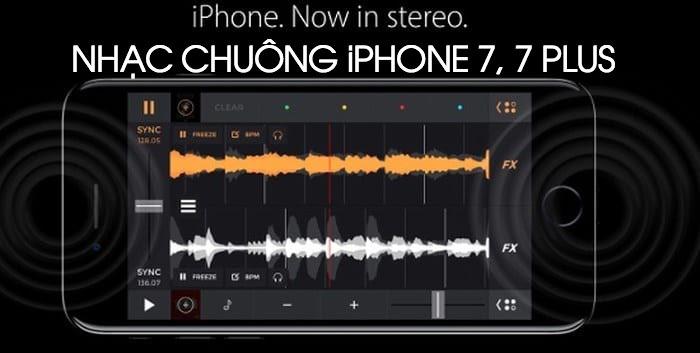 Tải nhạc chuông cho iphone 7, 7 Plus mặc định nguyên gốc 100%