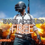 Share Acc PUBG PC, chia sẻ acc Playerunknown's Battlegrounds Mobile miễn phí