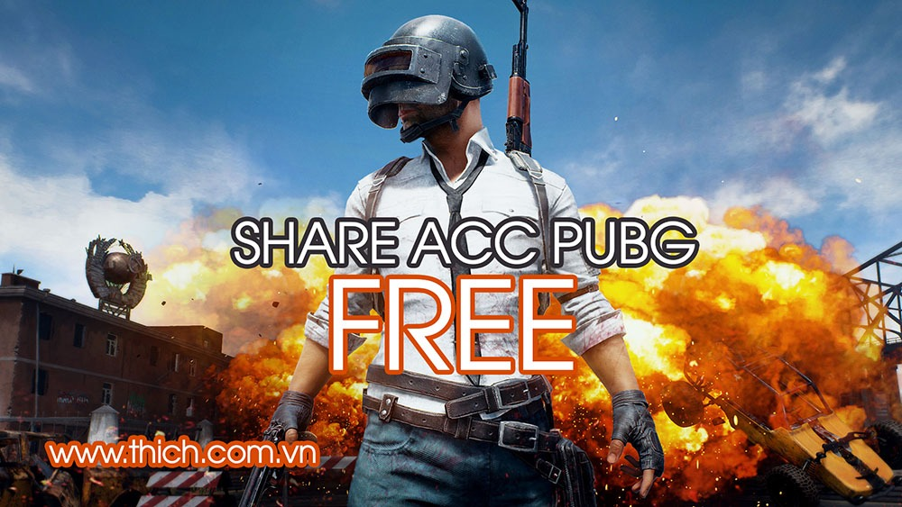 Share Acc PUBG PC, chia sẻ acc Playerunknown's Battlegrounds Mobile miễn phíShare Acc PUBG PC, chia sẻ acc Playerunknown's Battlegrounds Mobile miễn phí
