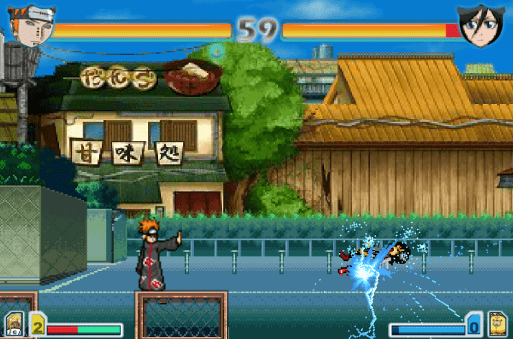Tải game Naruto 2.8 - Game Bleach vs Naruto 2.8 online miễn phí