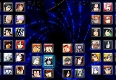 Chơi game Bleach vs Naruto 3.0   Game Hành động Naruto 3.0 miễn phí