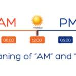 Am là gì? PM là gì? Nghĩa của từ AM, PM là gì khi xem thời gian, trên Facebook?