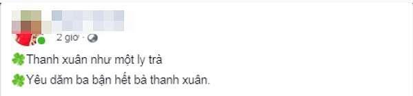 Các nội dung hài cư dân mạng chế cho câu Thanh Xuân như một tách trà