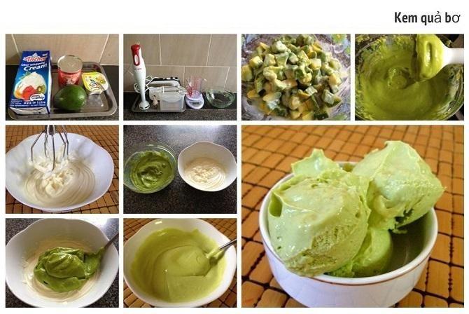 Cách làm kem bơ sữa tươi rất đơn giản mà còn tốt cho sức khỏe.