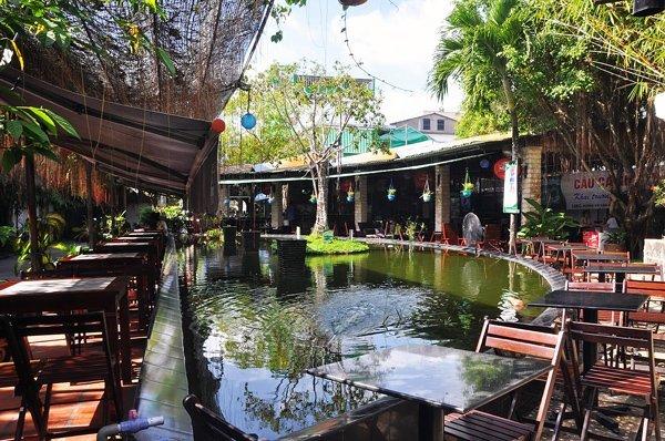 Café Thủy Mộc gần trường Đại Học Công Nghiệp Gò Vấp TPHCM