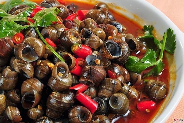 Ốc món ăn vặt của người Sài Gonv