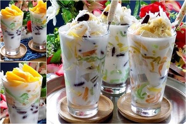 Món ăn vặt chè Thái tại Sài Gòn