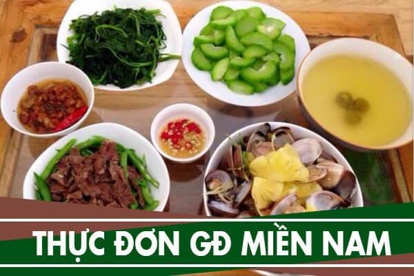 Các món ăn thường ngày được chế biến rất đơn giản.